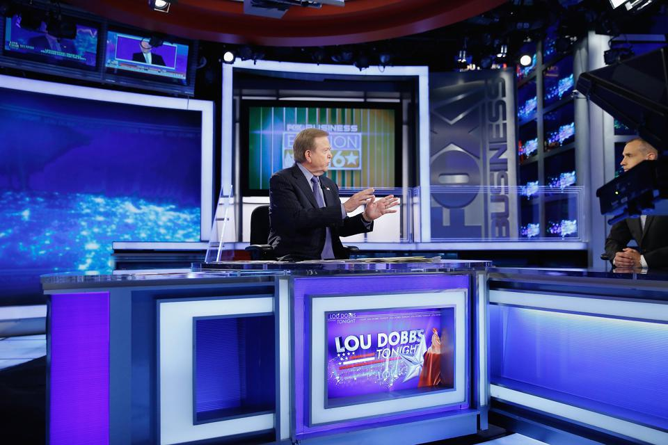 Corey Lewandowski visita Fox Business Network