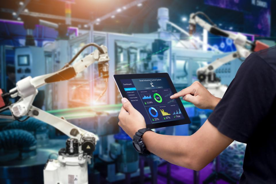 Smart industry control concept