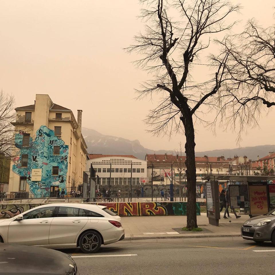 Grenoble dust