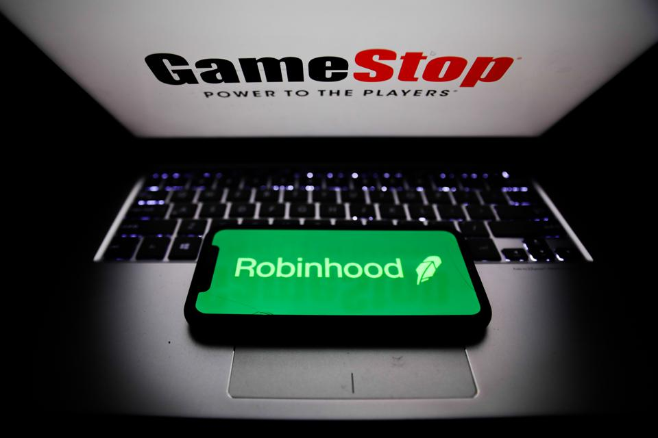 GameStop And Robinhood Photo Illustrations