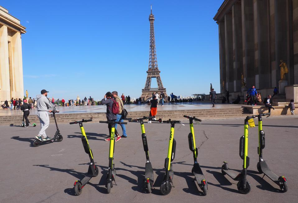 E-Tretroller in Paris