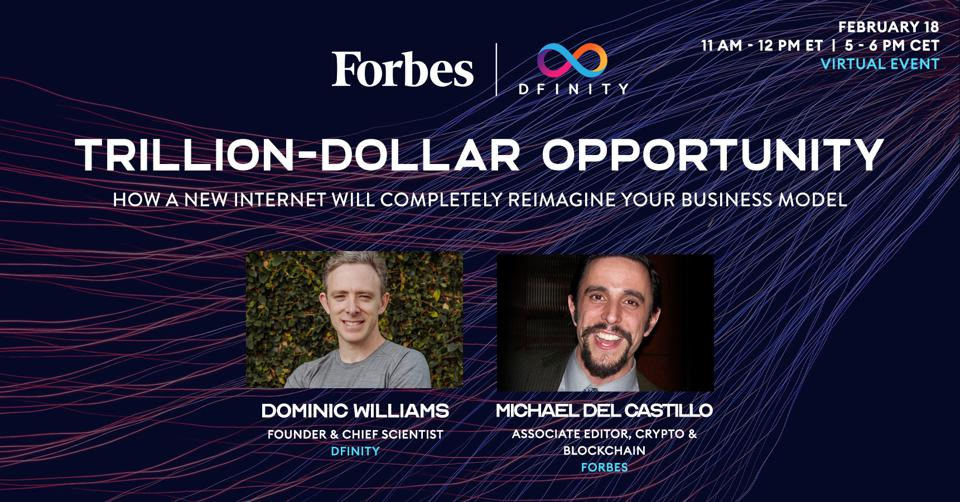 Forbes virtual event with Dfinity