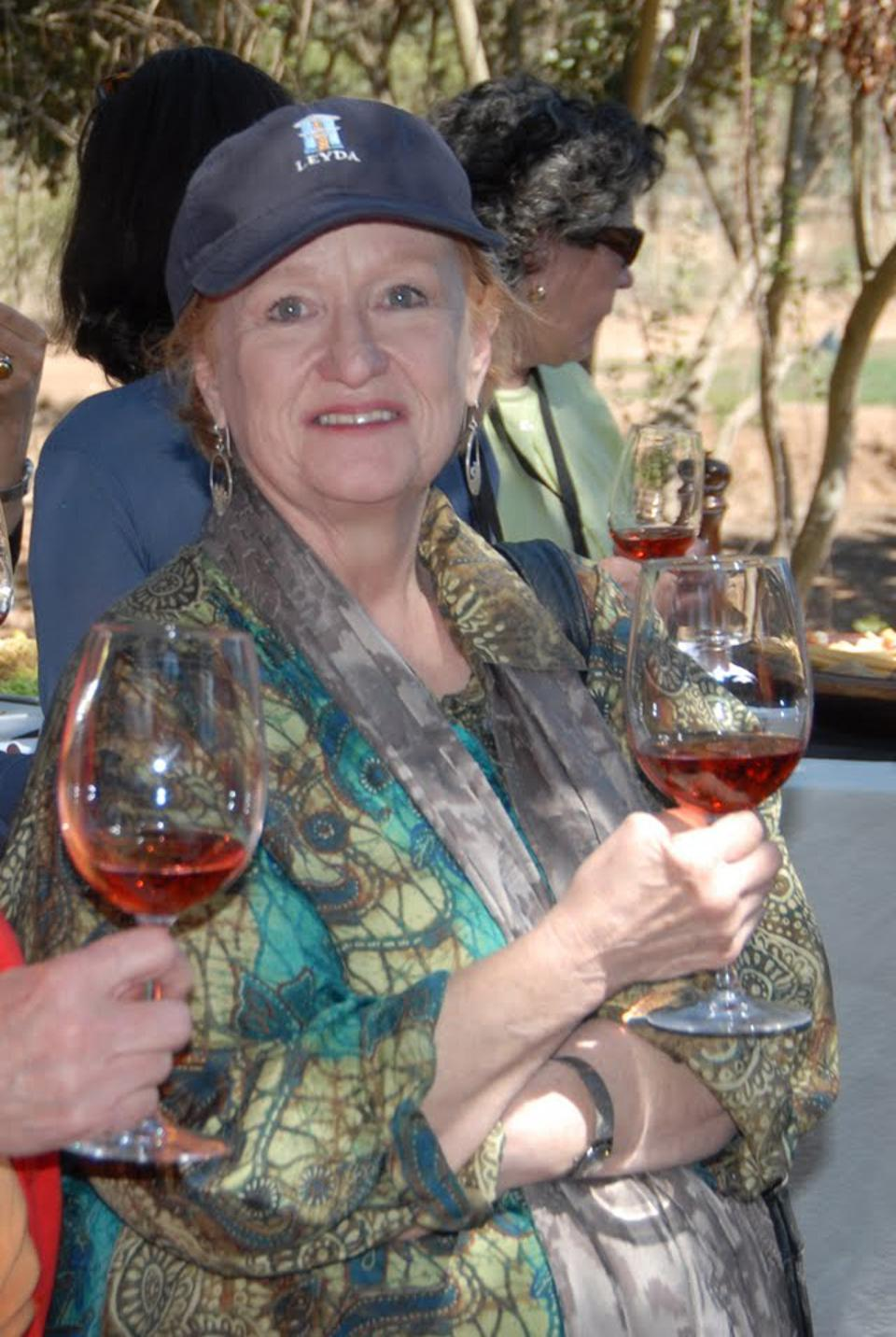 Diane Teitelbaum was a Dallas-based wine writer, global judge and founding member of Les Dames d'Escoffier in Dallas.
