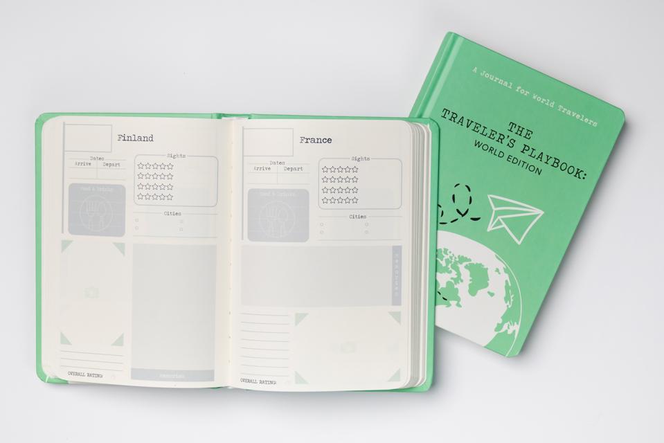 travel playbook journal