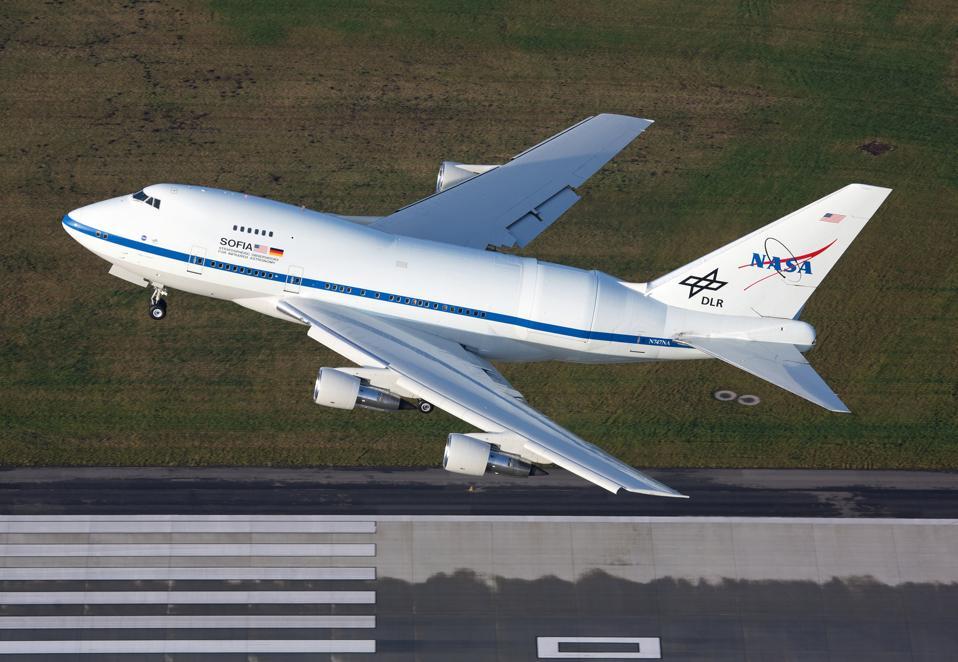 Im Februar und März 2021 wird die SOFIA der NASA wissenschaftliche Flüge über Deutschland durchführen.