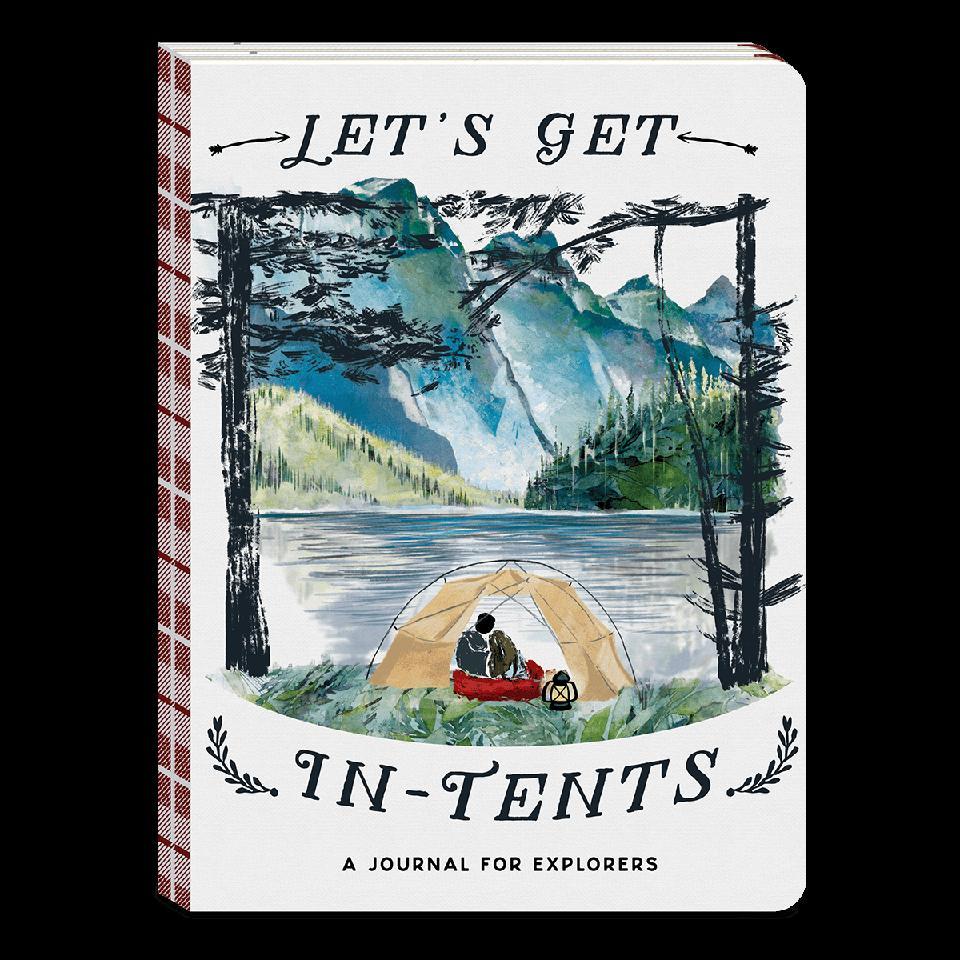 Let's Get In Tents Journal