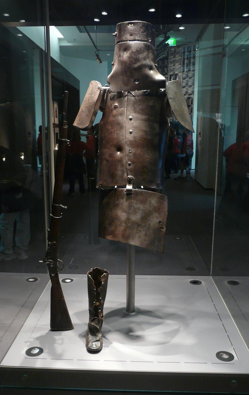 Ned Kelly homemade armor
