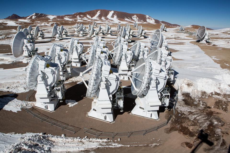 Progetto ALMA nel deserto di Atacama, Cile