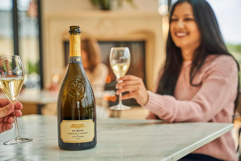 A tasting experience at Domaine Carneros