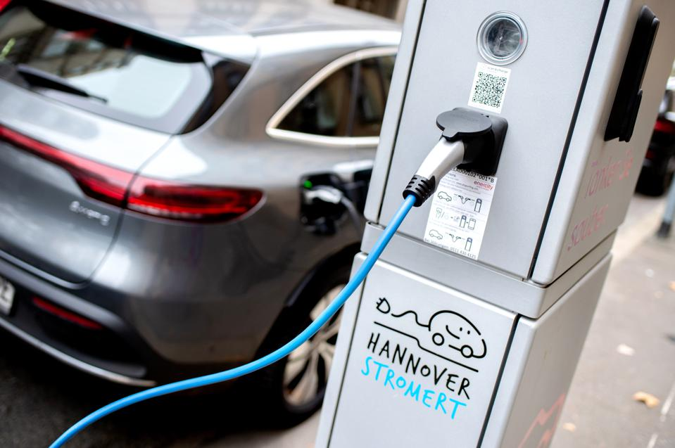 Enercity charging station in Hanover