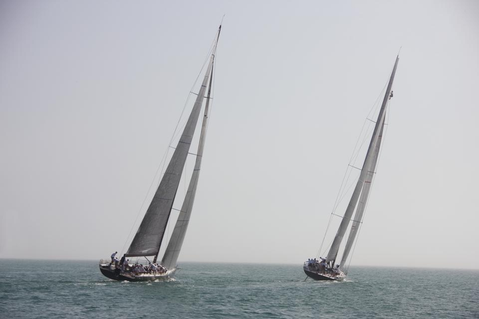 Competitive Sailing in Key West, Florida USA