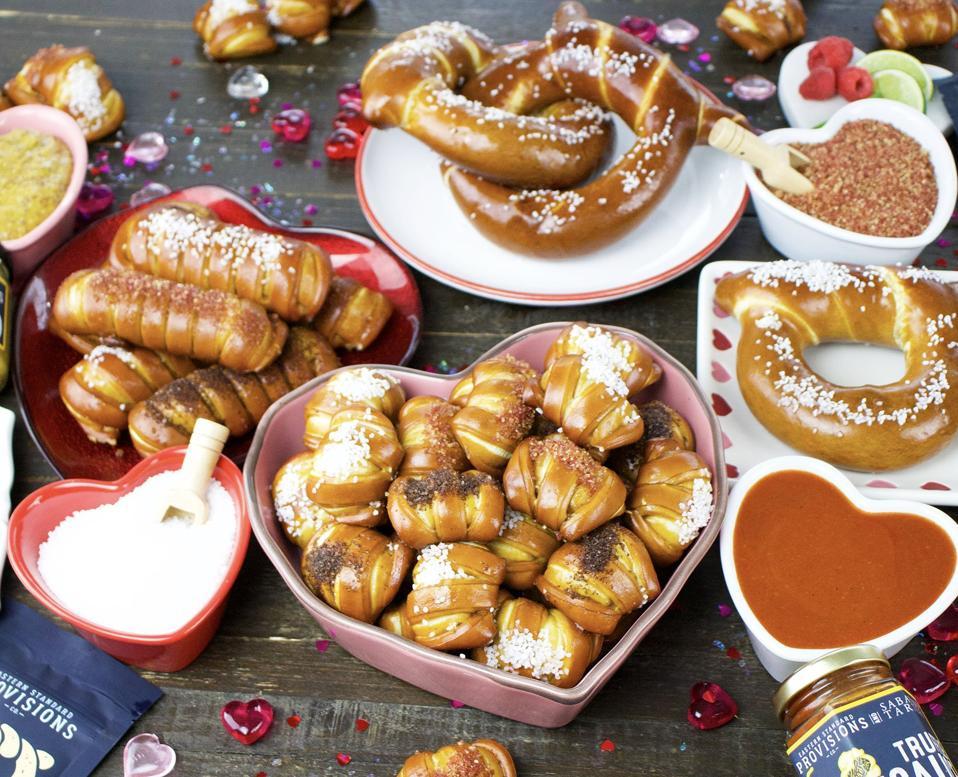 Eastern Provisions pretzels