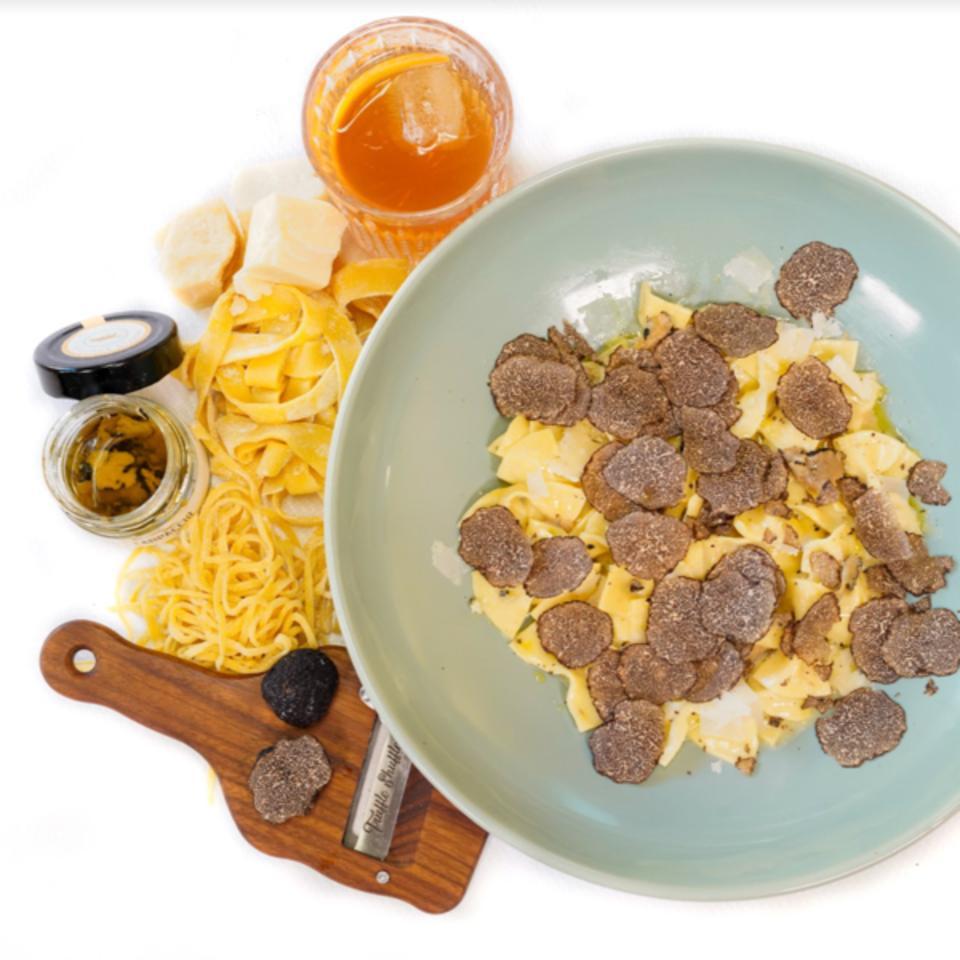 Truffle Shuffle's truffle pasta
