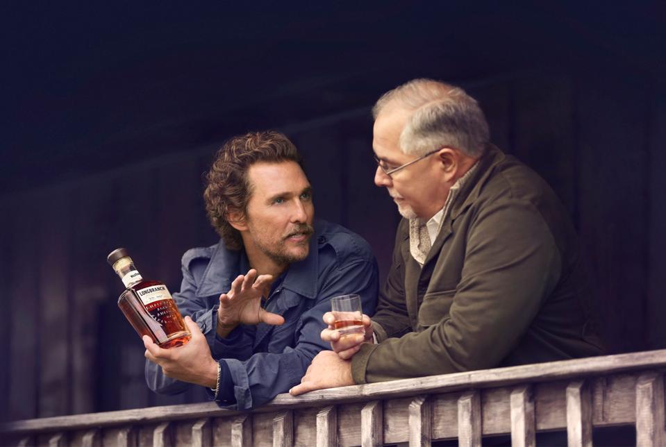 Matthew McConaughey and Wild Turkey's Master Distiller Eddie Russell