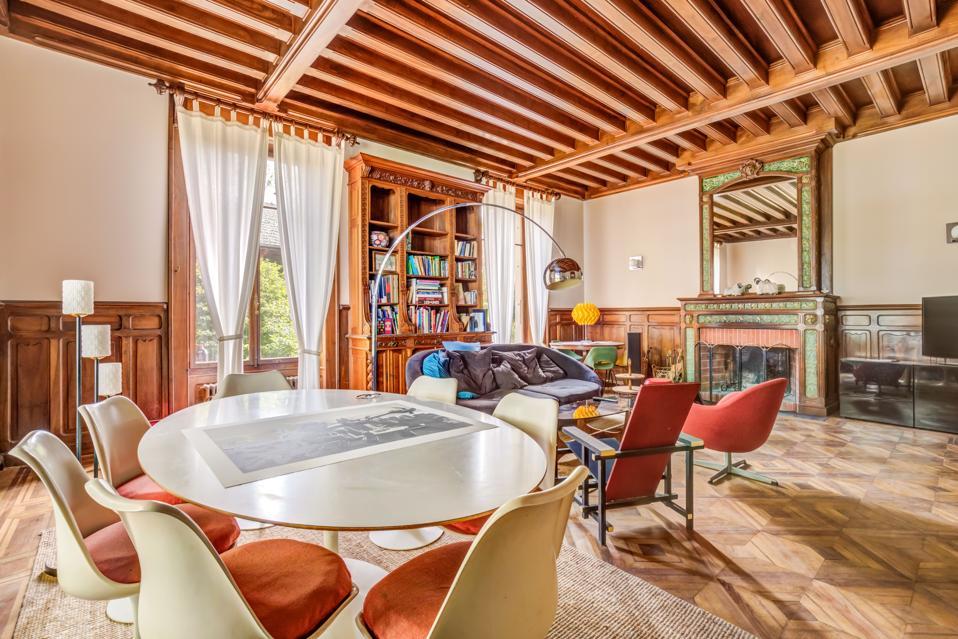 inside the chalet home at 53 chemin de Vétrau Messery Haute-Savoie France