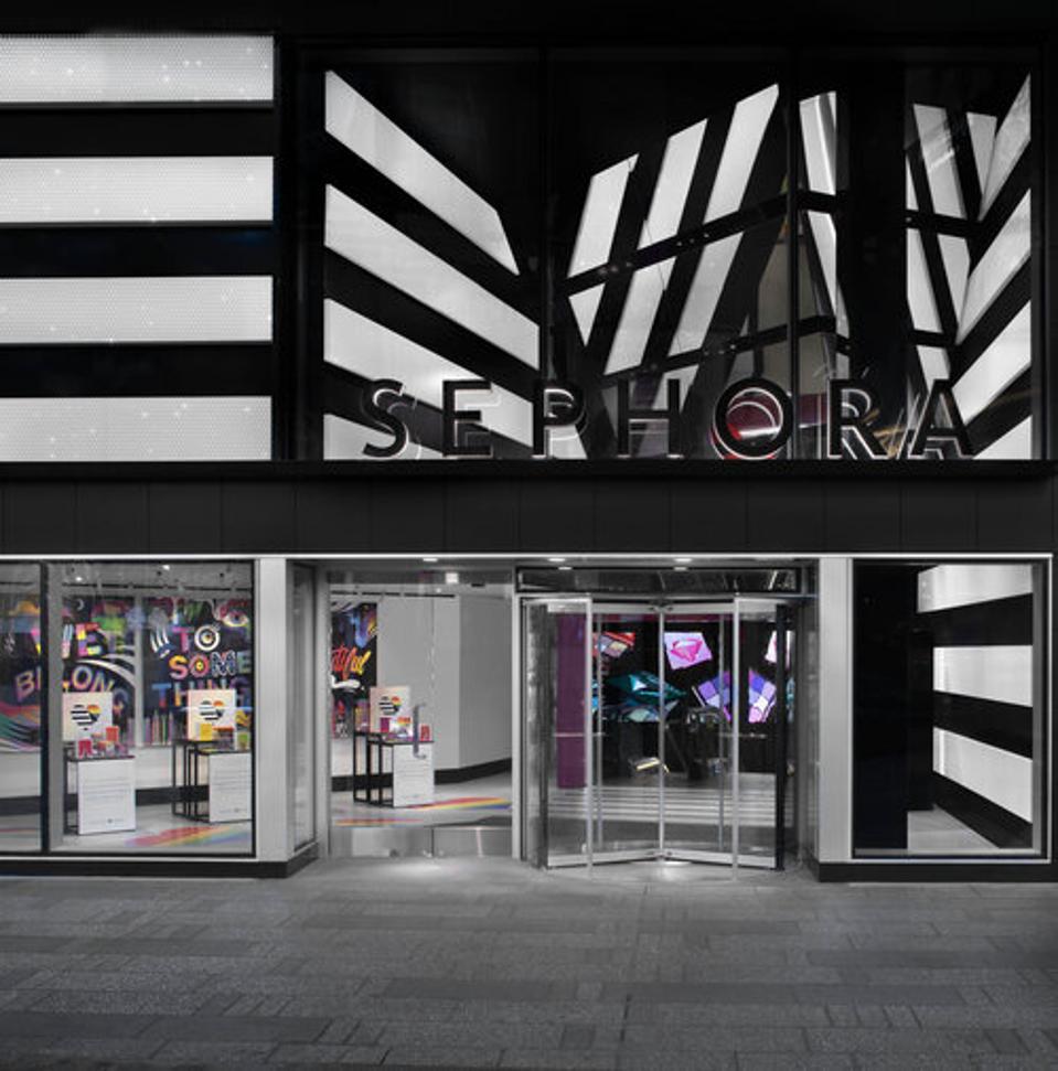 sephora store front