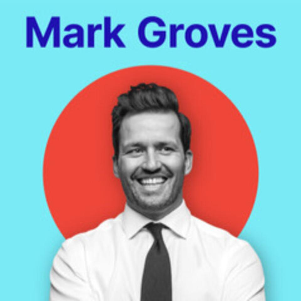 The cover of the Mark Groves Podcast.