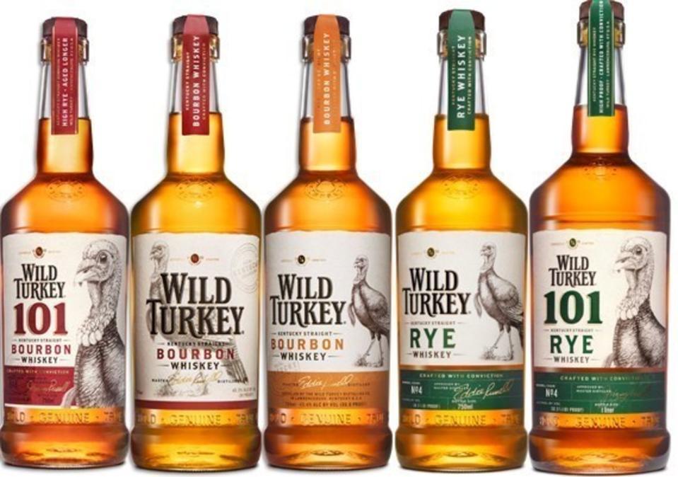 The Wild Turkey Core Range