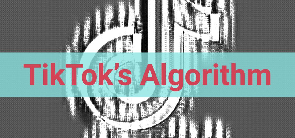 TikTok의 알고리즘-TikTok 로고에 대한 매트릭스 필터