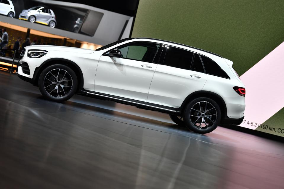 Mercedes-Benz headed Germany's January plug-in hybrid sales with the GLC compact SUV.