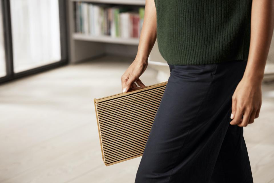 Person carrying Beosound Level