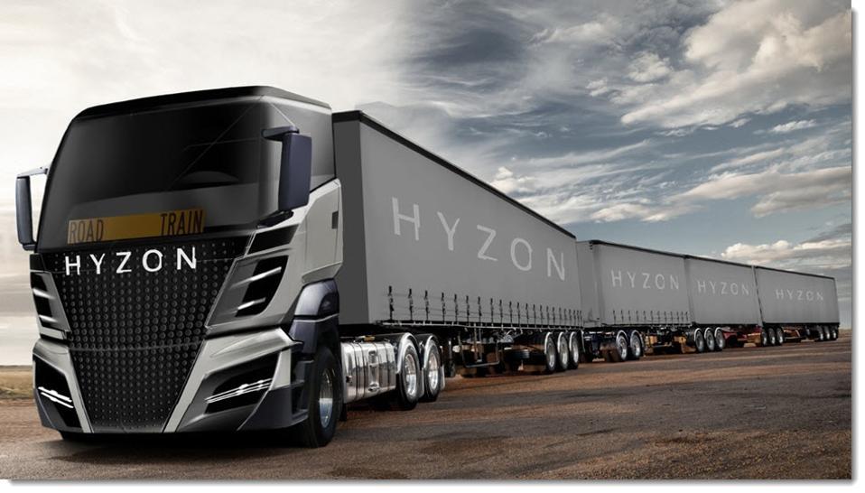 Hyzon-Hydrogen-Truck-SPAC