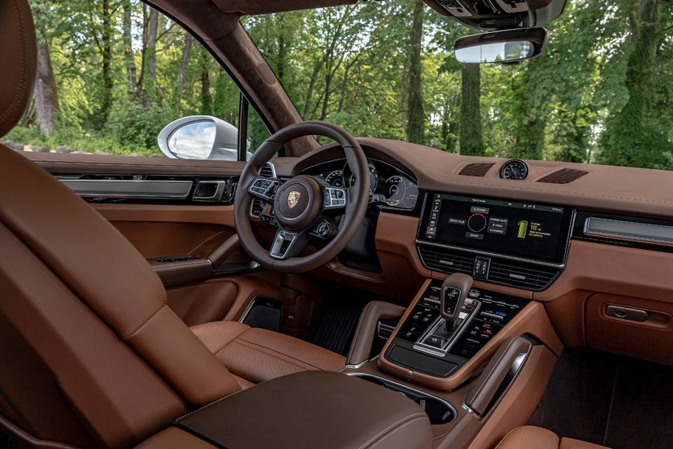 Interior is beautifully assembled and logical, yet sumptuous.