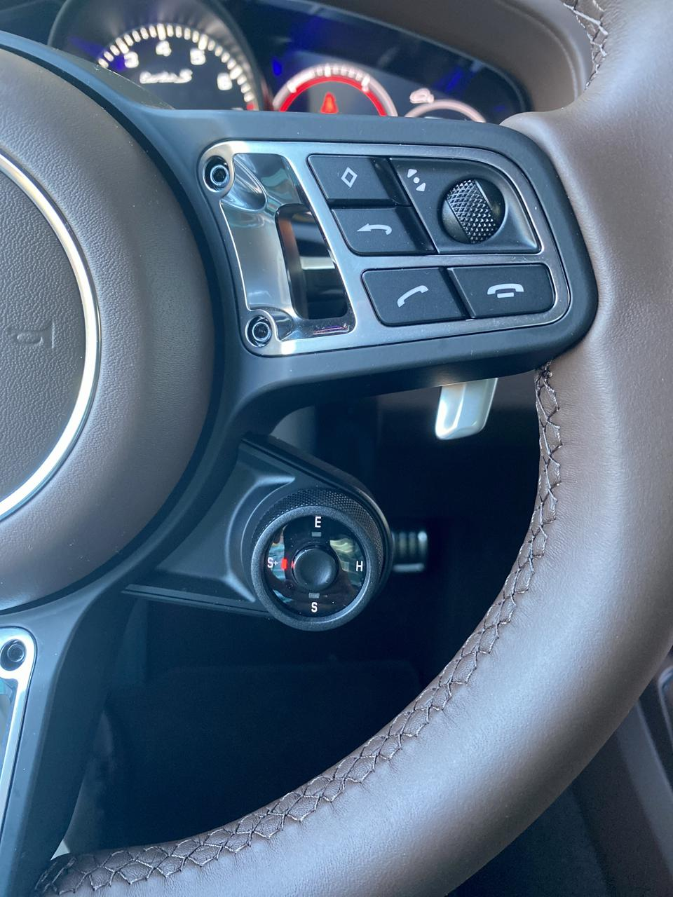 The Joy Button. Sport + brings incredible acceleration.
