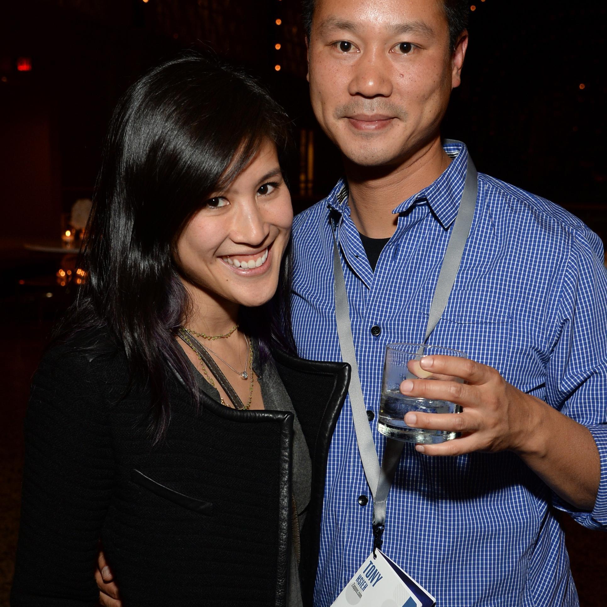 Jennifer ″Mimi″ Pham and Tony Hsieh