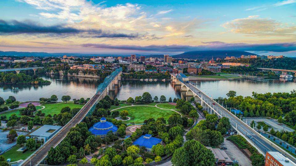 Chattanooga Tennessee best places to work from home