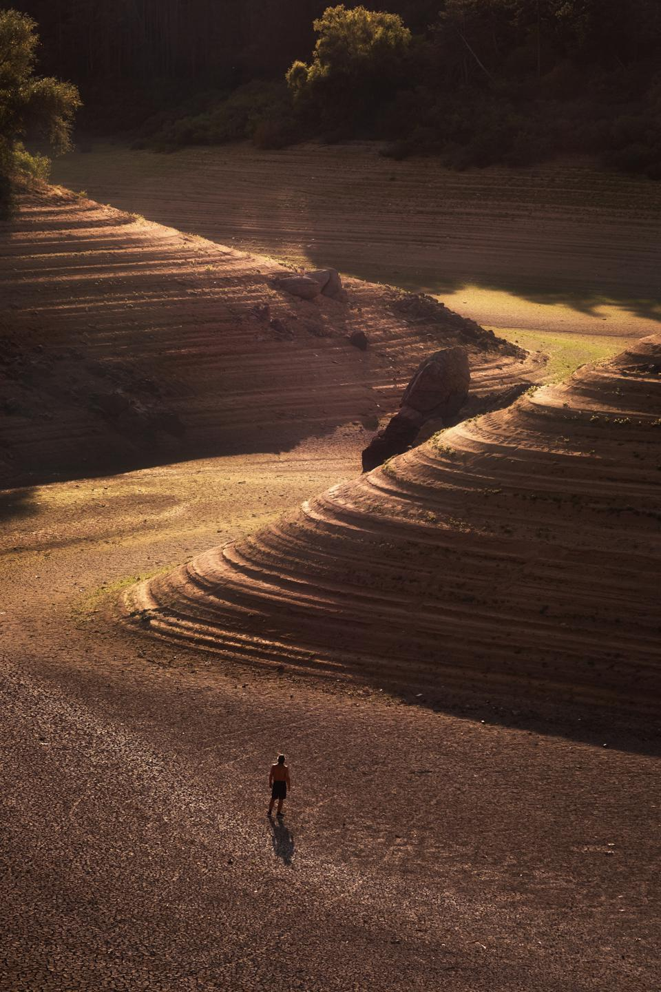 Sony World Photography Awards winning photo of rolling sand hills