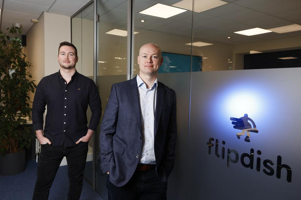 Founders of food delivery software company Flipdish