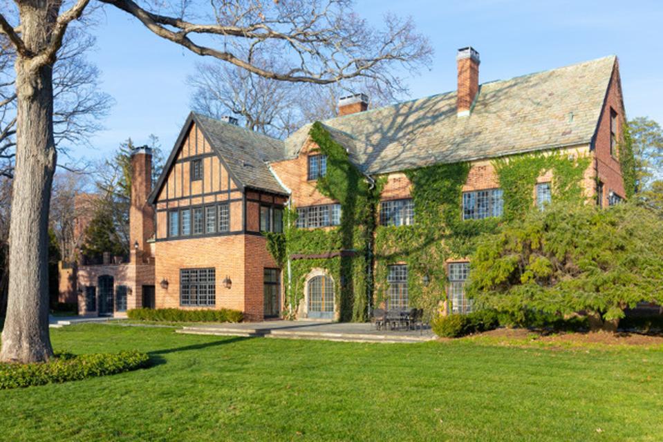 Brick historic house