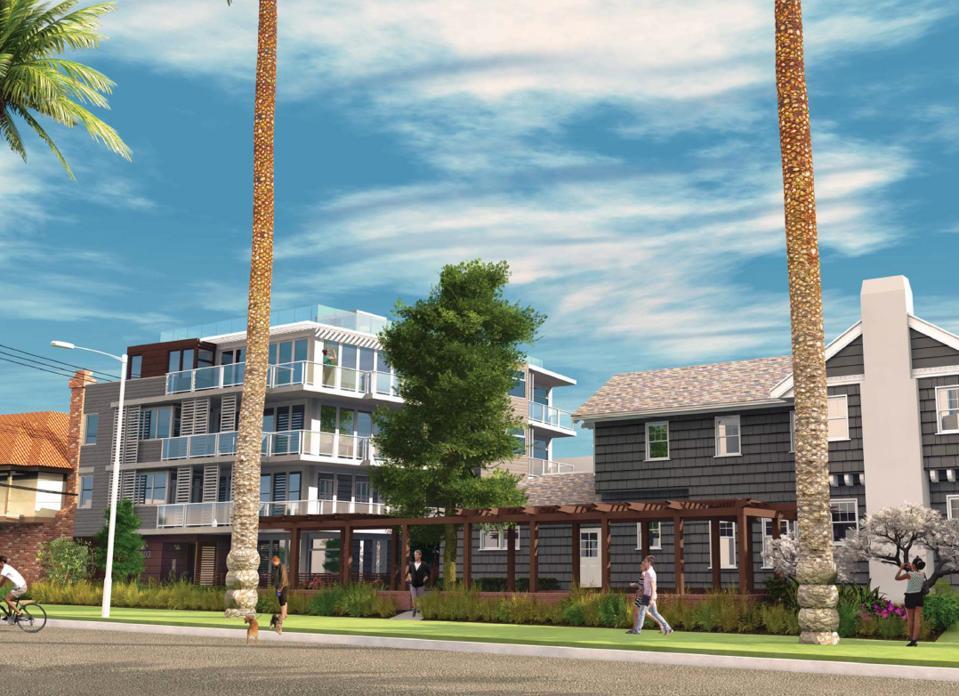 luxury development in santa monica at 401 Ocean Avenue