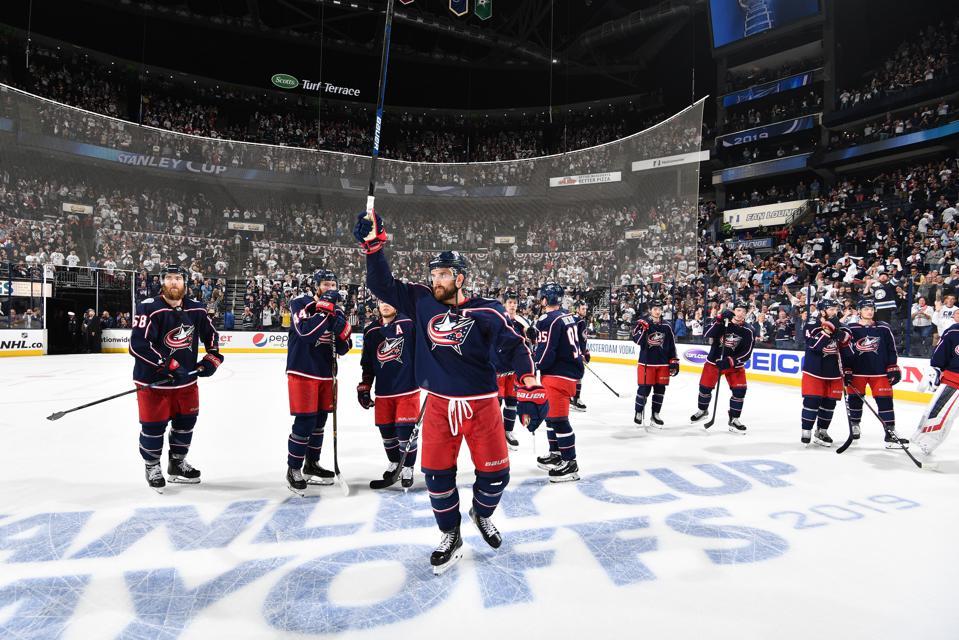 Boston Bruins v Columbus Blue Jackets - Game Six