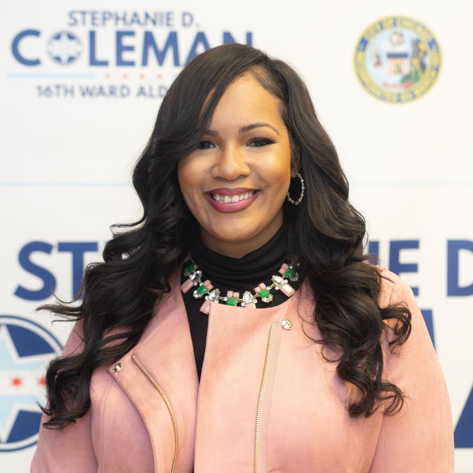 Alderwoman Stephanie Coleman - Chicago 16th Ward