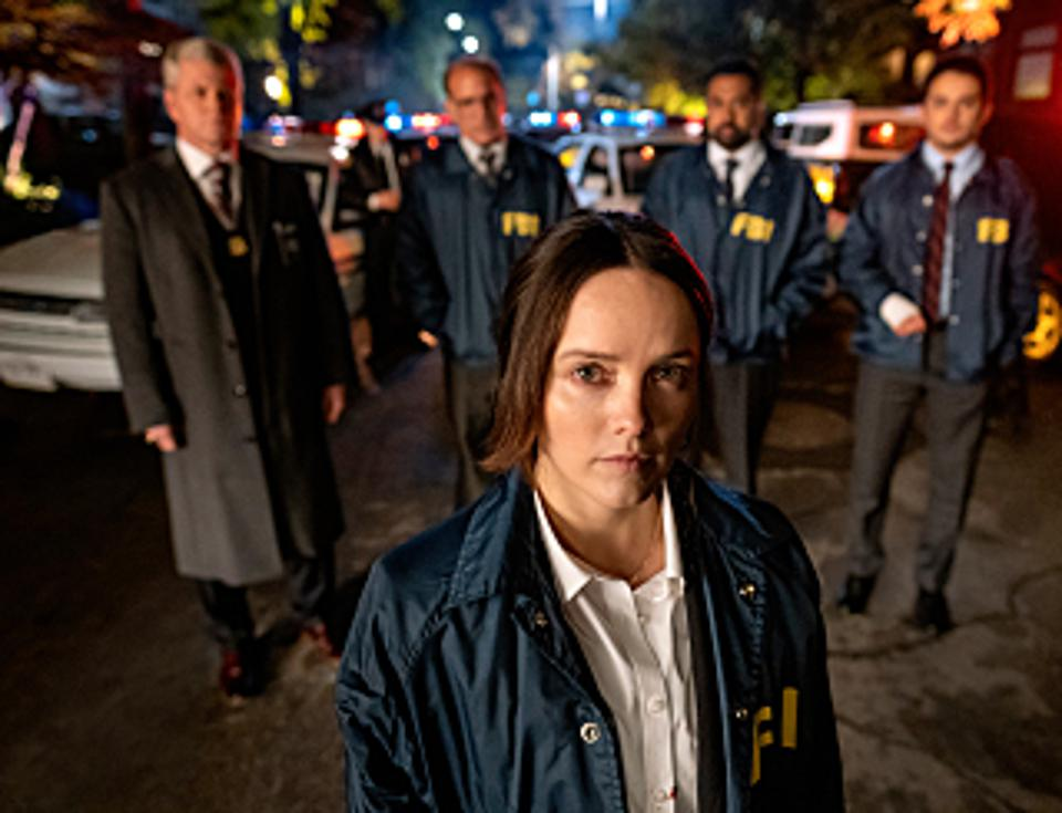 Rebecca Breeds plays FBI agent Clarice Starling in ″Clarice″ on CBS.