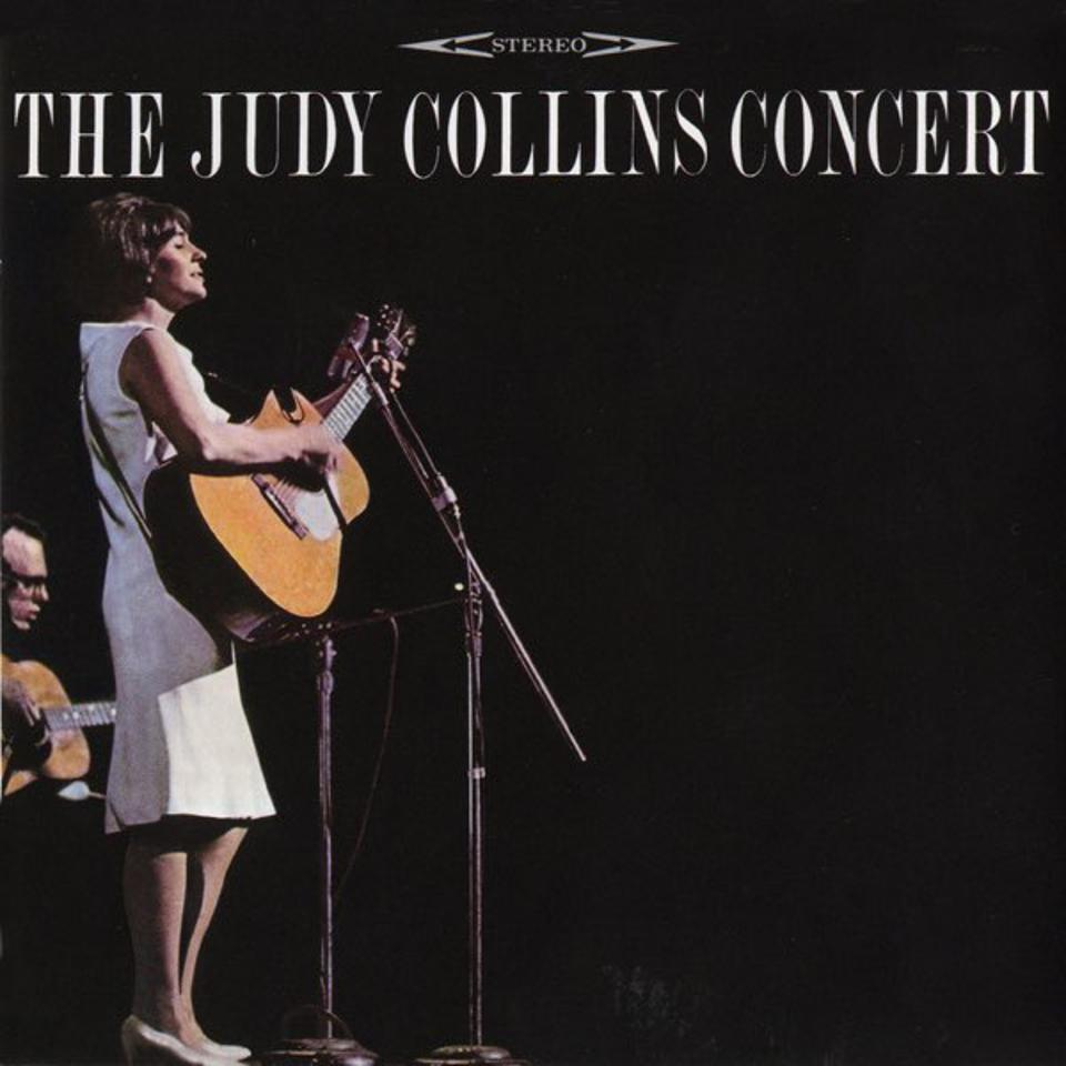 Judy Collins recorded her debut Town Hall concert in 1964.