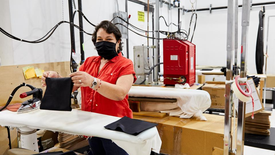Reformation production of protective face masks