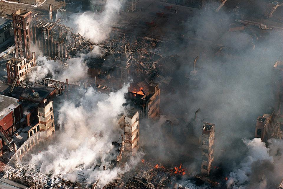 Fire At Malden Mills