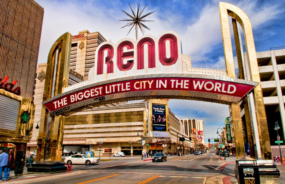 Reno, Nevada, The Biggest Little City In The World.