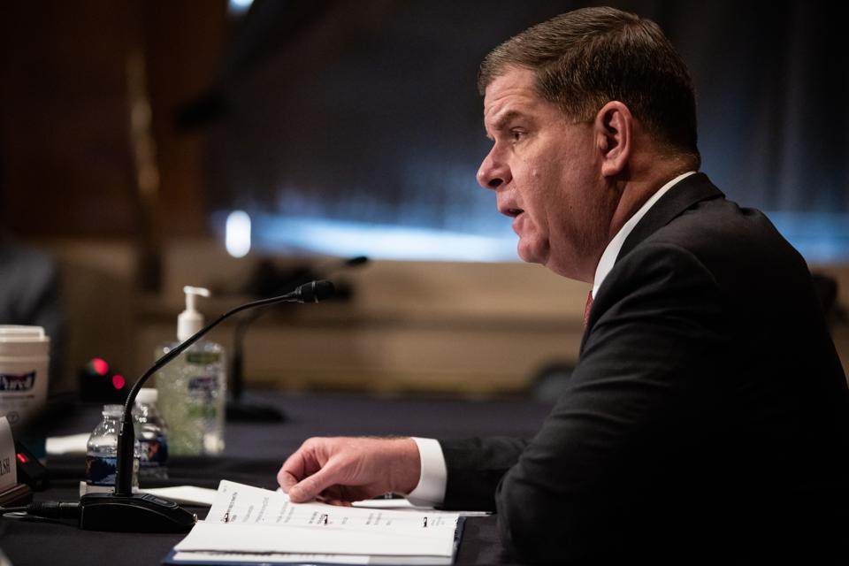 Senate Holds Confirmation Hearing For Labor Secretary Nominee Marty Walsh