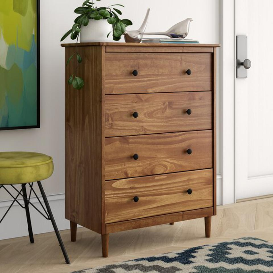 Mercury Row Lafever 4 Drawer Chest