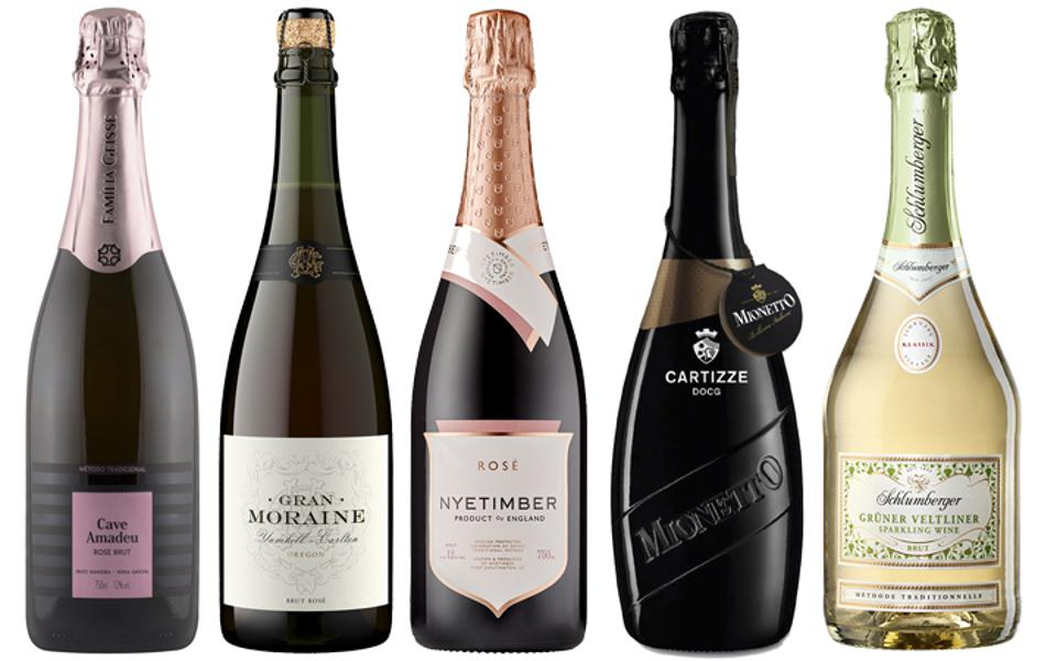 Most wine regions across the globe produce sparkling wine that you can explore on Valentine's Day