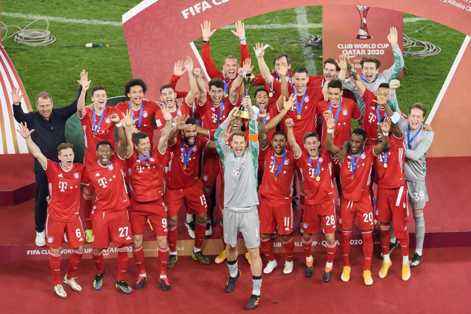 With Fifa Club World Cup Win Bayern Munich Ties Fc Barcelona S Six Title Single Season Record