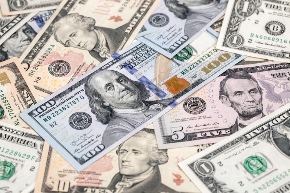 American U.S. Dollar Bills