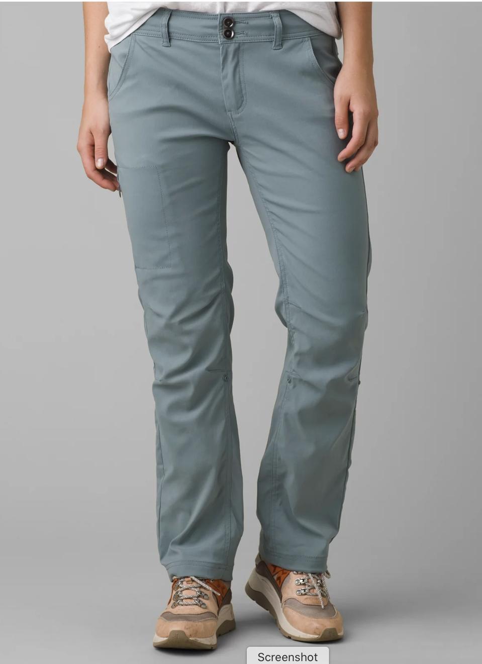 blue hiking pants