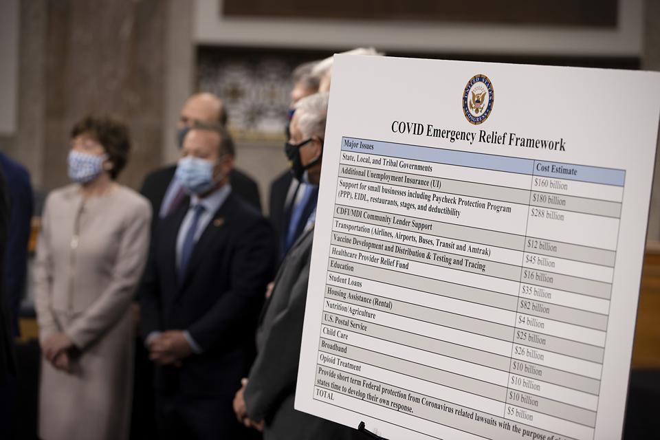 Bipartisan Members Of Congress Announce Coronavirus Relief Bill