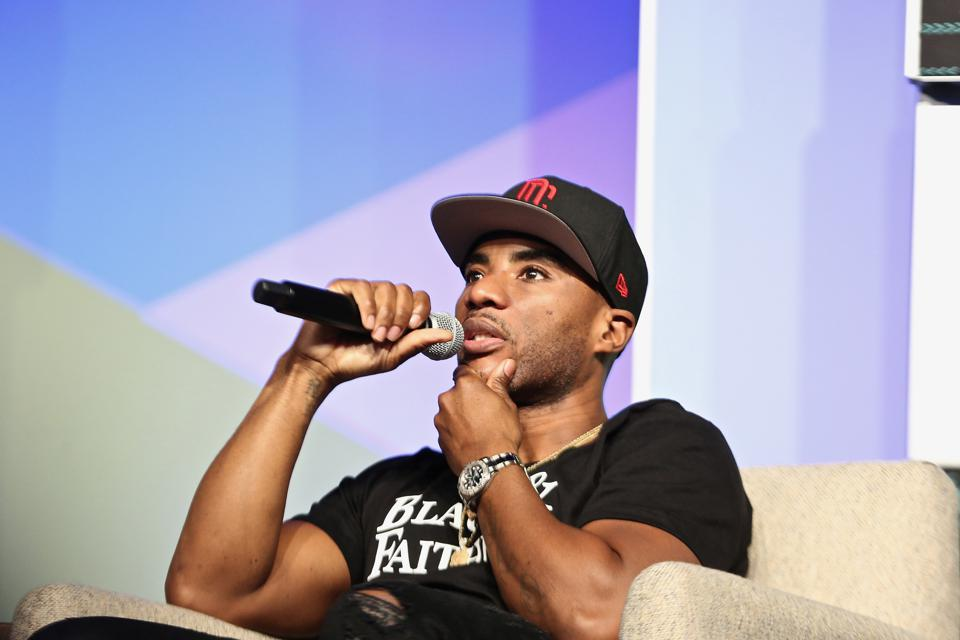 Charlamagne tha God attends AfroTech 2019.