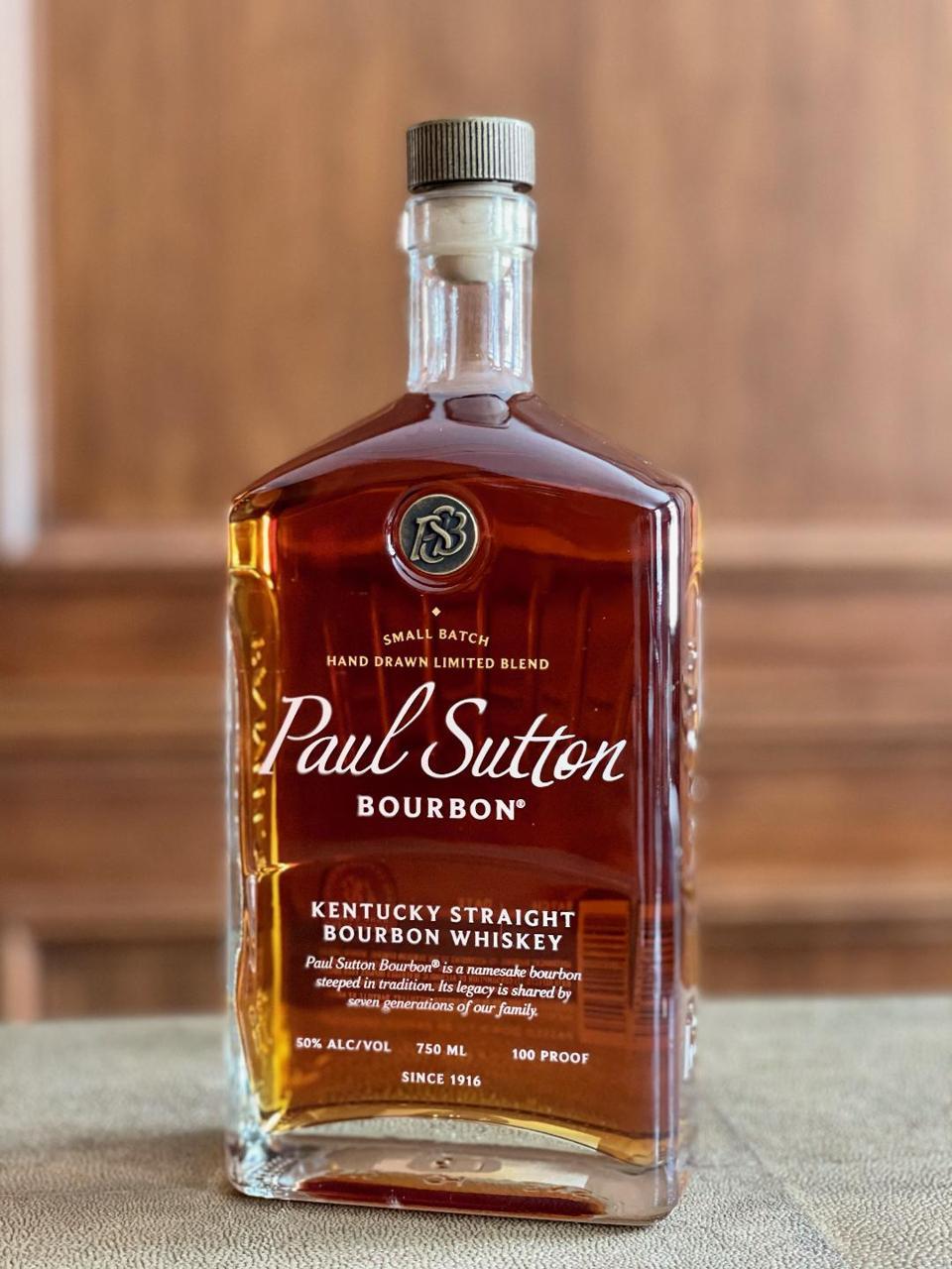 Paul Sutton bourbon is a new Kentucky bourbon with a deep history.